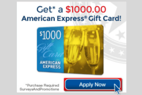 $1000 Amex Gift Card