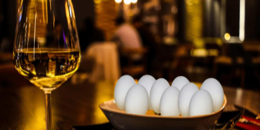 wine and eggs diet